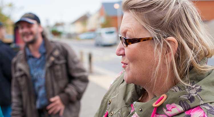 Karen Constantine in Newington