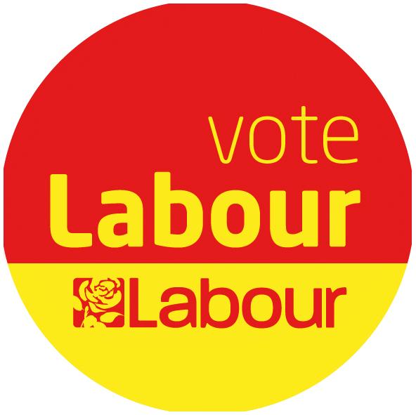Vote Labour Roundel