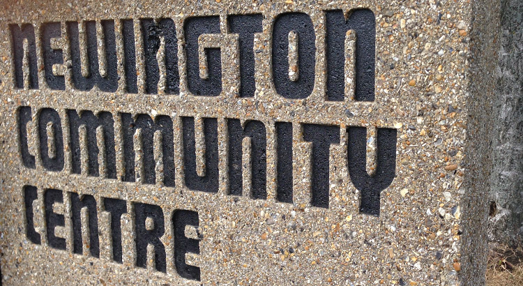Newington Community Centre Signage