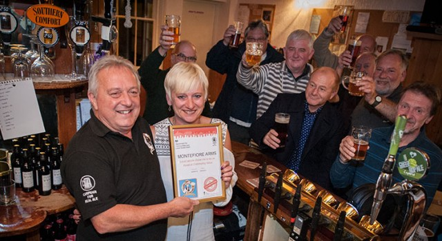Thanet CAMRA presents Mandy from The Montefiore Arms in Ramsgate with an ACV certificate