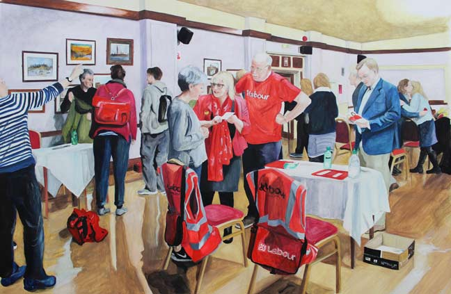 Painting: The Thanet Election Academy by Jemima Brown
