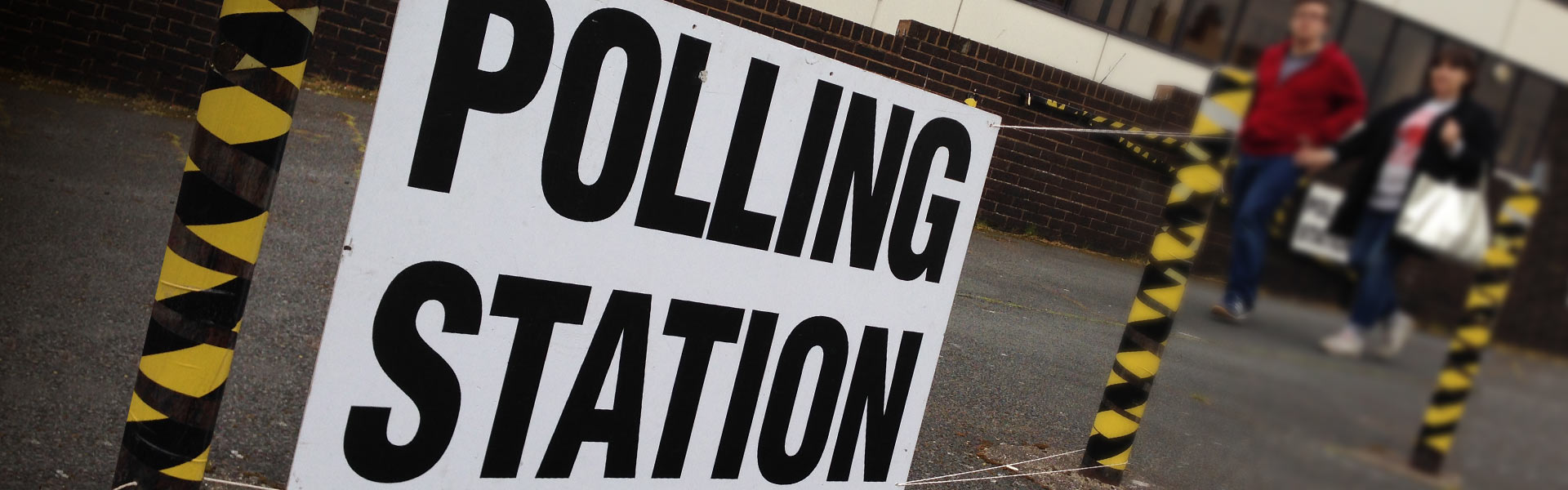 Polling station in Ramsgate