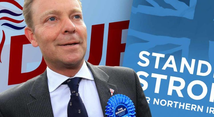 Craig Mackinlay and the Democratic Unionist Party DUP