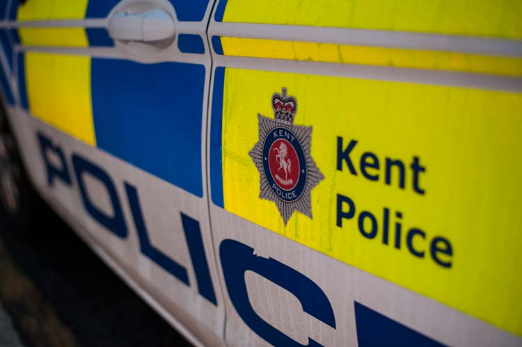 Image of Kent Police Car