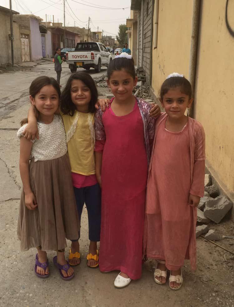 Kids on the street in Kurdistan