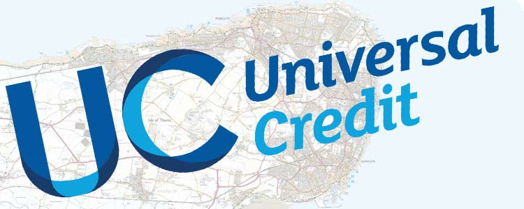 Universal Credit is being introduced across Thanet