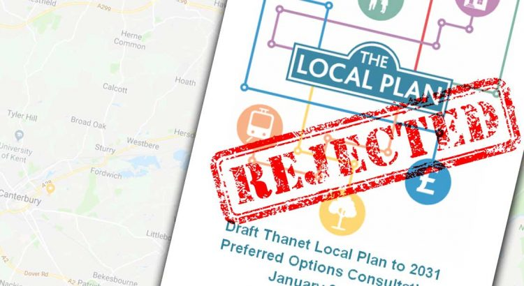 Thanet District Council Local Plan Rejected