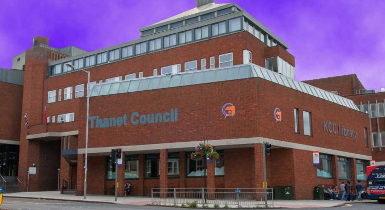 Thanet District Council offices in Margate, Kent