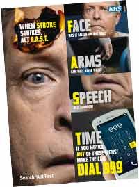 NHS stroke poster