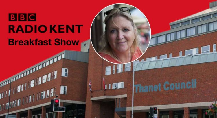 Karen Constantine. BBC Radio Kent