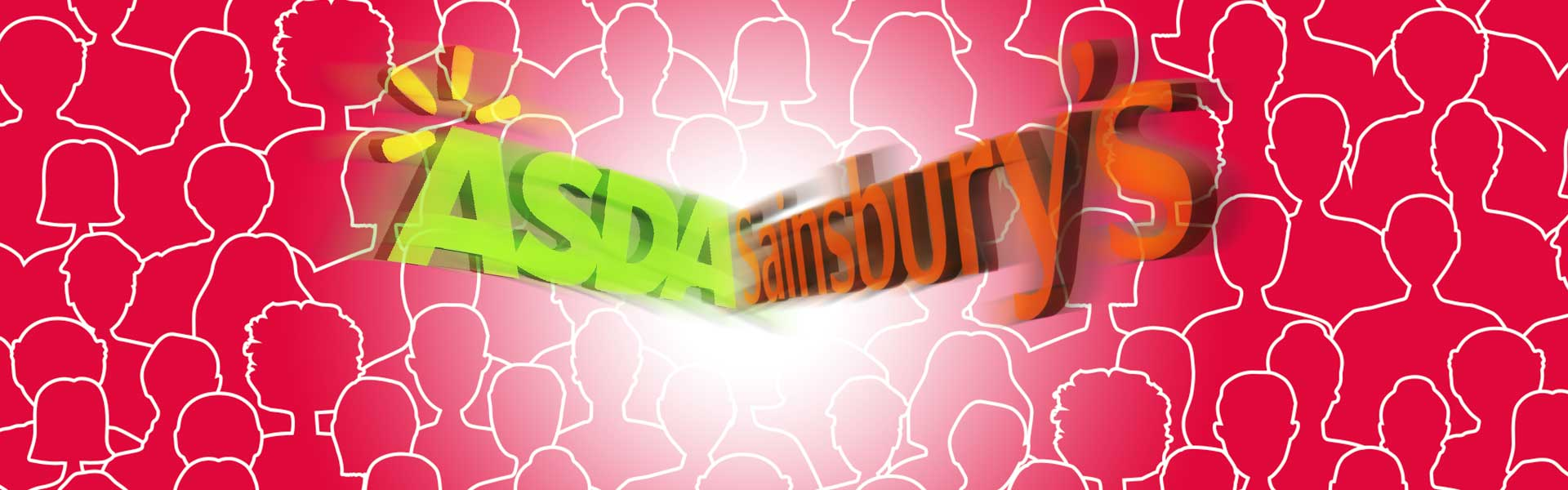 Sainsbury's and Asda Merger Graphic