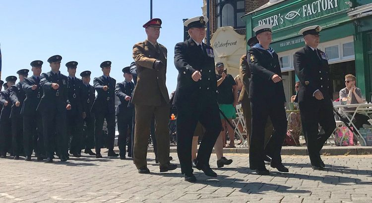 armed forces day in Ramsgate