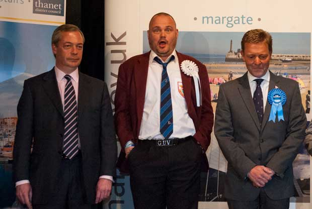 South Thanet candidates in 2015