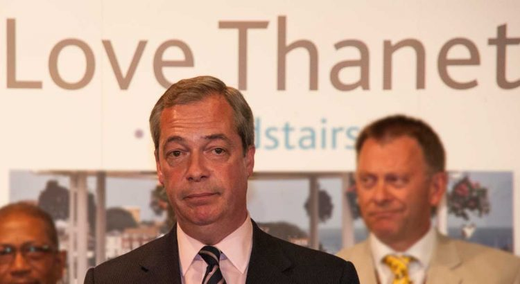 Nigel Farage loses in 2015