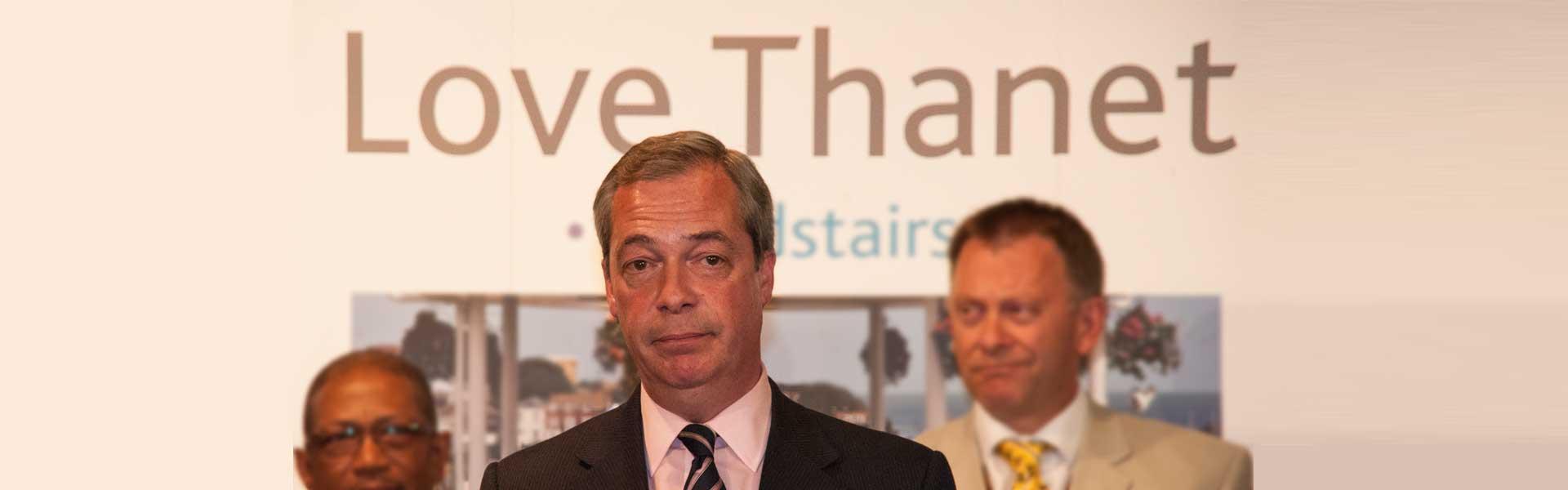 Nigel Farage loses in 2015