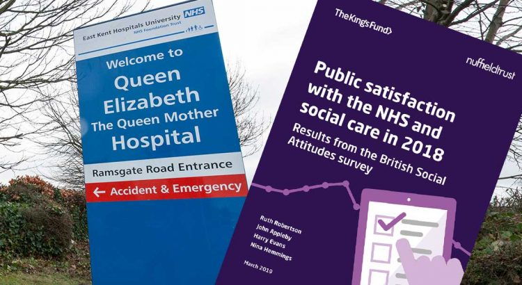 NHS satisfaction report header image
