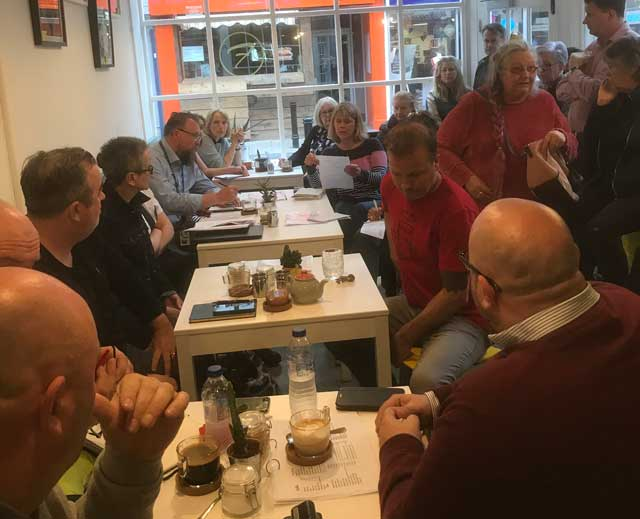 Cafe Zest Meeting Ramsgate Town Centre