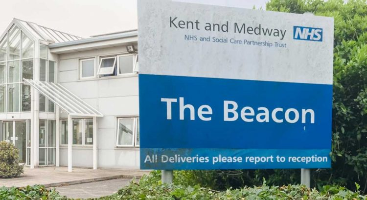 The Beacon in Ramsgate, providing NHS mental health services