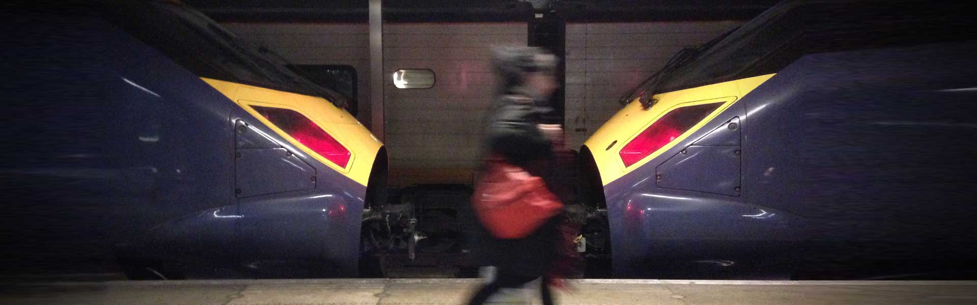 Southeastern High Speed Javelin trains at St Pancras