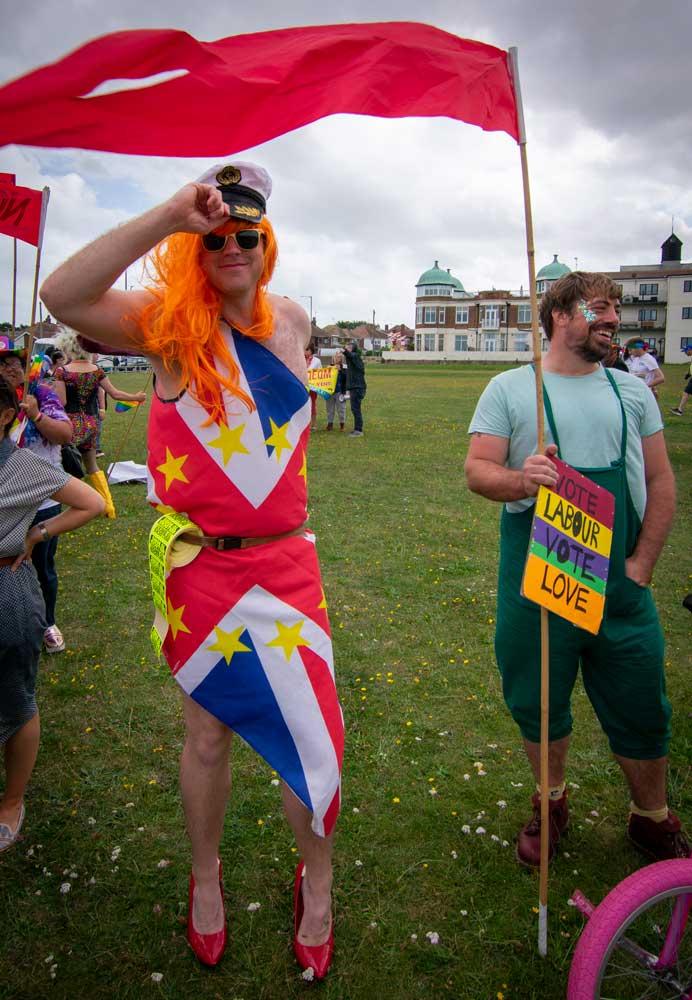 Margate Pride. Photo: Lillian Constantine