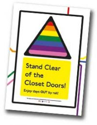 Stand Clear of The Closet Doors booklet