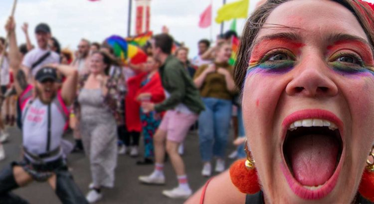 Margate Pride with Peter Tatchell