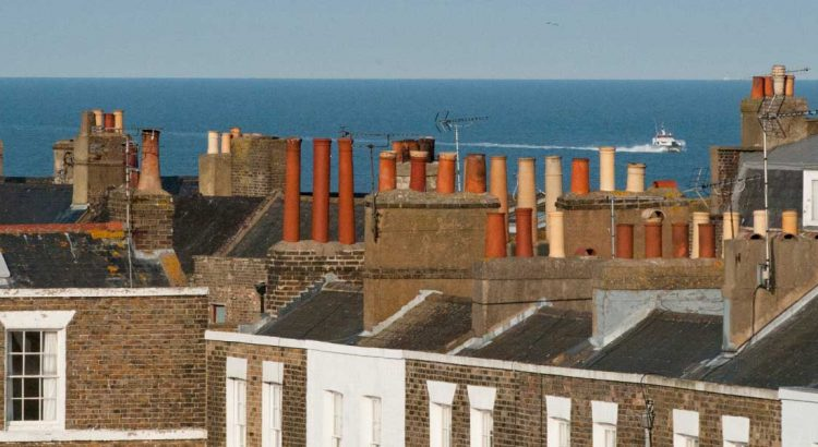 Rooftops of Thanet photograph to illustrate multi-generational living
