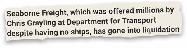 Seaborne Freight news clipping