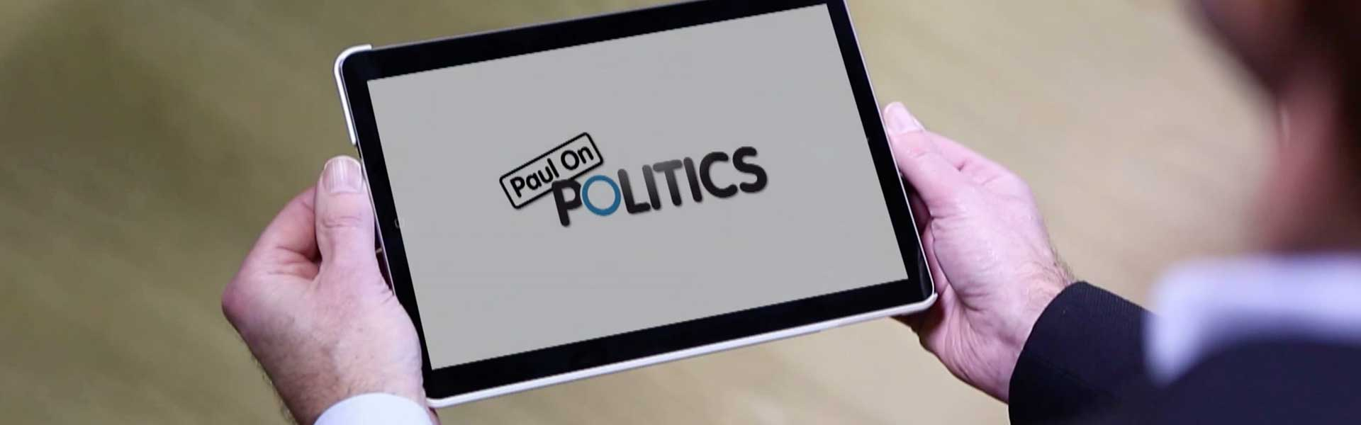 Paul on Politics story header image